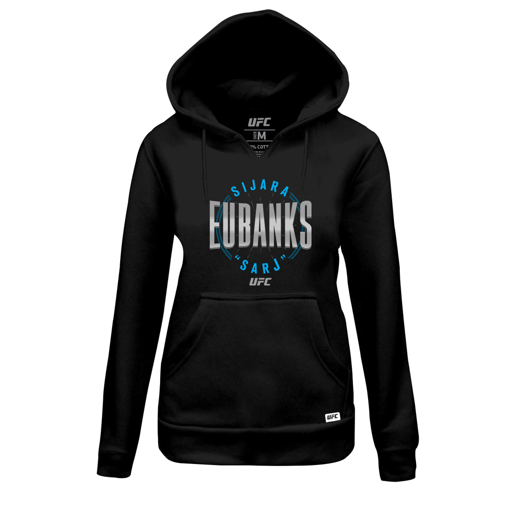 "Women's UFC Sijara ""Sarj"" Eubanks Graphic Hoodie - Black"