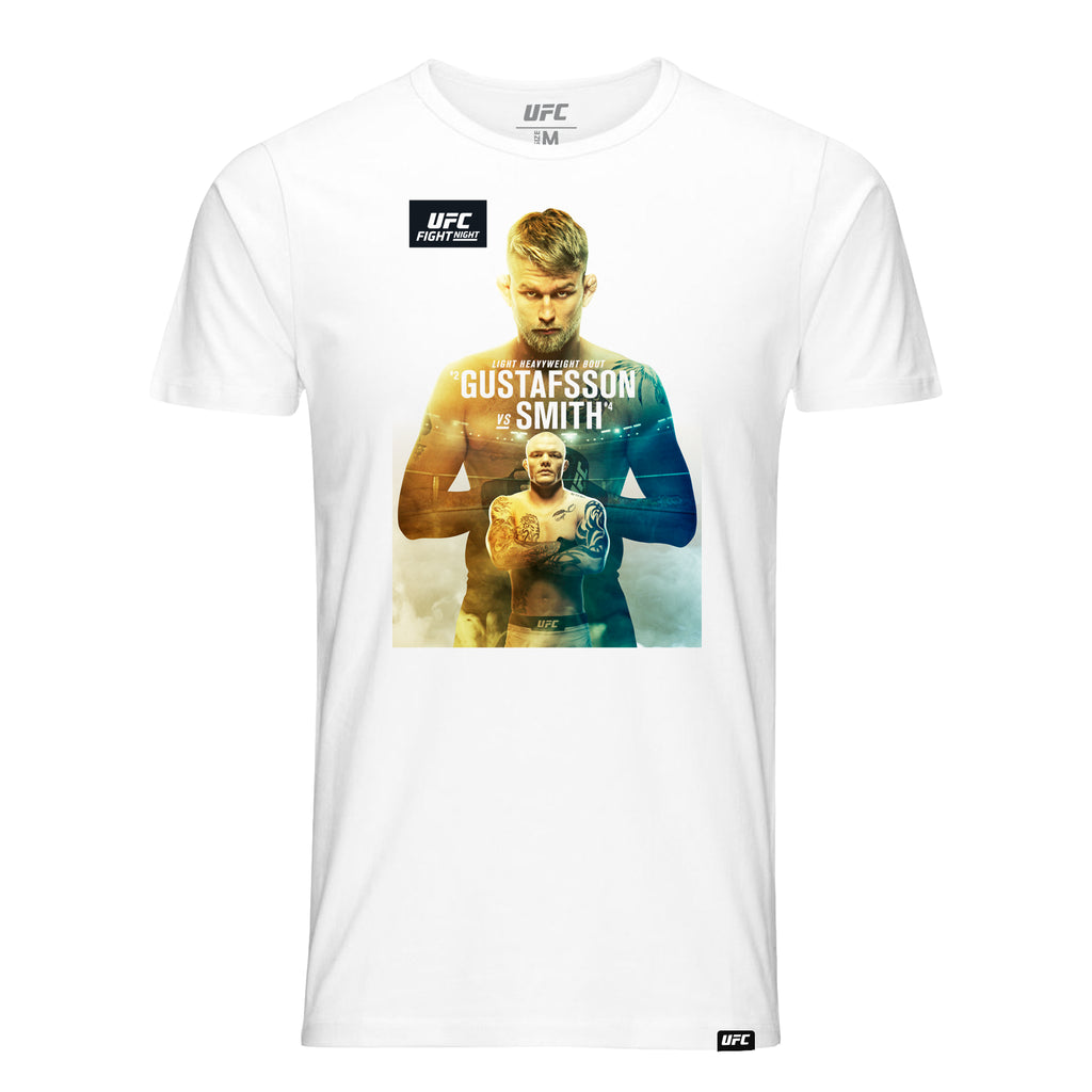 Men's Fight Night Stockholm Gustafsson vs. Smith Event T-Shirt- White