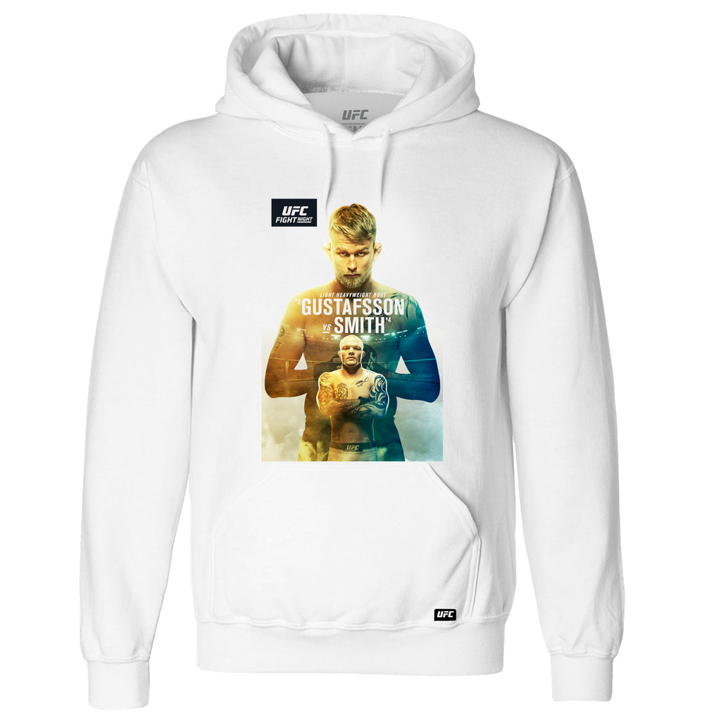Men's Fight Night Stockholm Gustafsson vs. Smith Event Hoodie- White