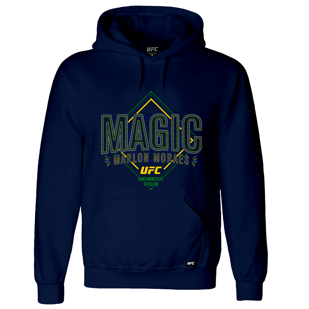 "Men's UFC ""Magic"" Marlon Moraes Brazil Flash Hoodie-Navy"