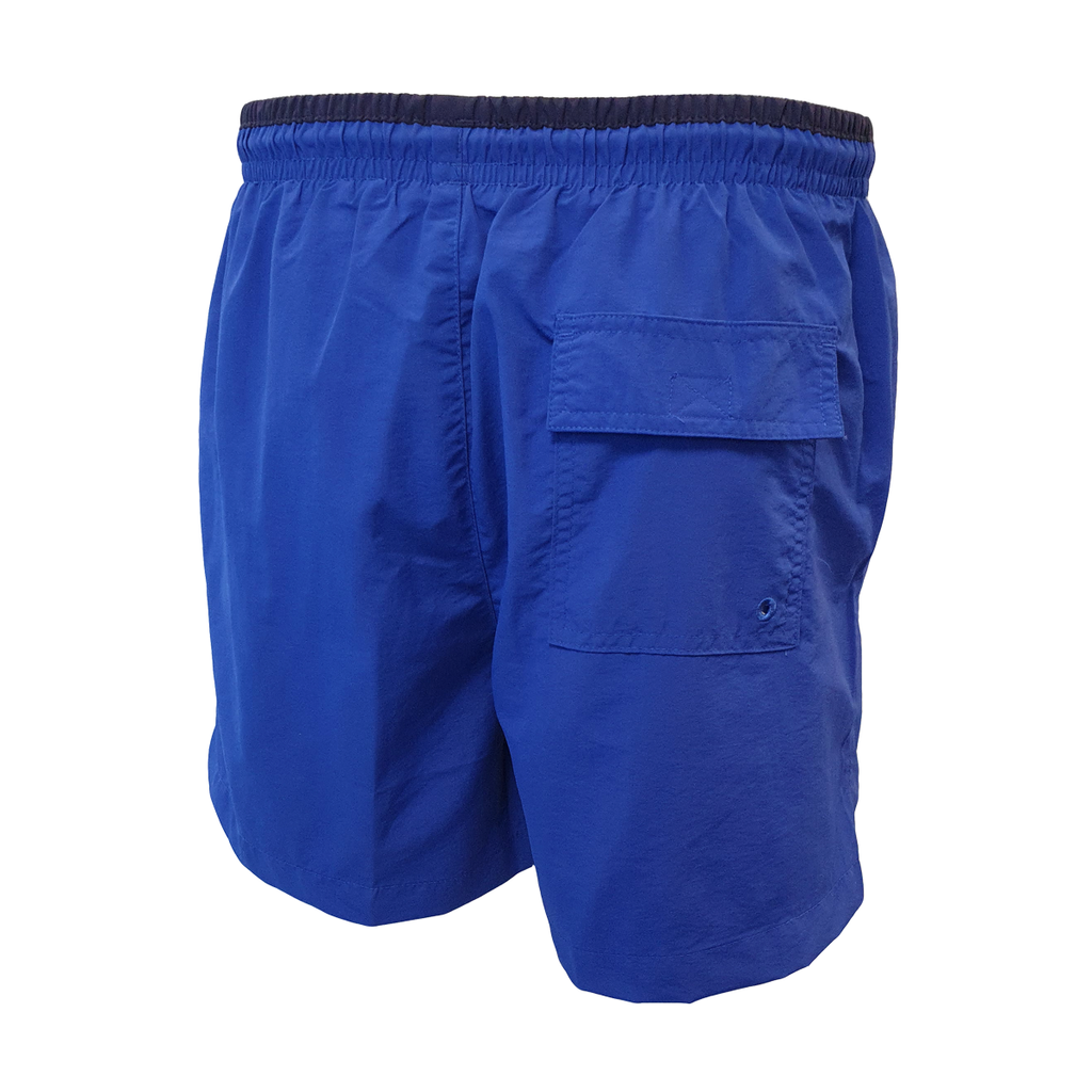 UFC White Logo Swim Shorts - Royal/Navy