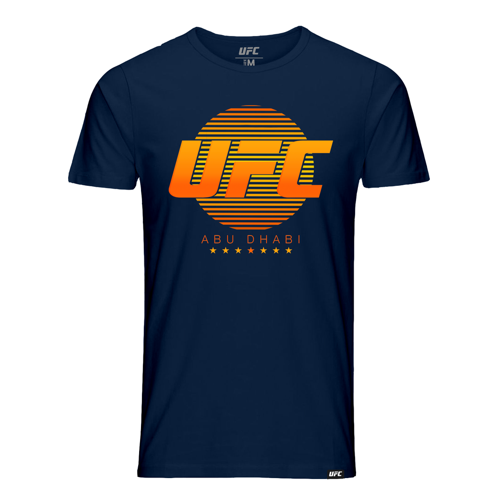 UFC 242 Men's Abu Dhabi Sun T-Shirt -Navy