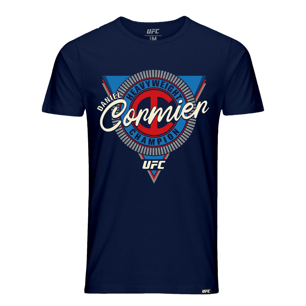 "Men's UFC Daniel ""DC"" Cormier Heavyweight Symbol Graphic T-Shirt-Navy"