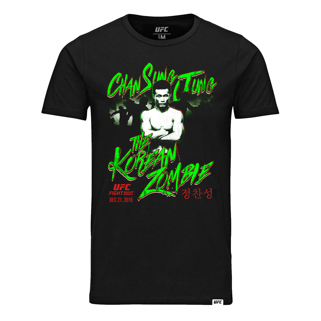 Men's Chan Sung Jung The Korean Zombie T-Shirt-Black