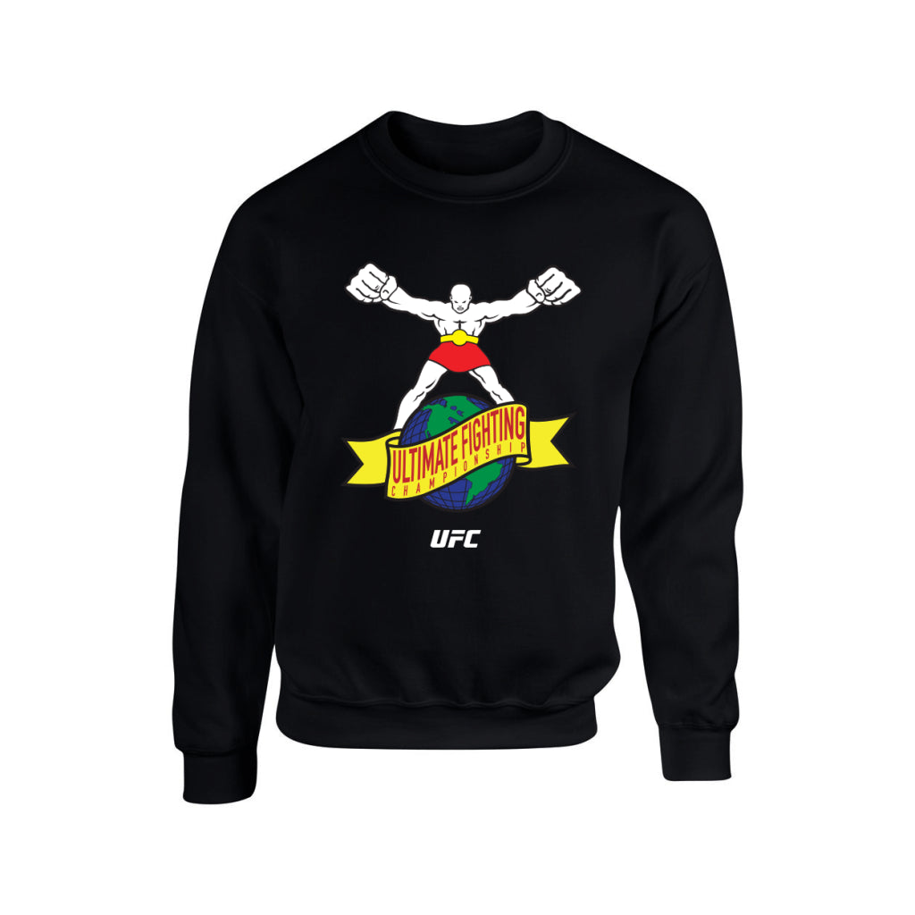 "UFC ""Ulti-Man"" Ultimate Fighting Championship Sweatshirt- Black"