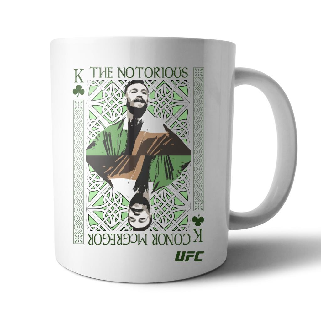 UFC Conor McGregor King of MMA Mug White