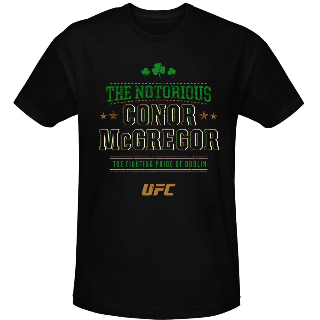 "Conor ""The Notorious"" McGregor Pride of Dublin Kid's T-Shirt-Black"