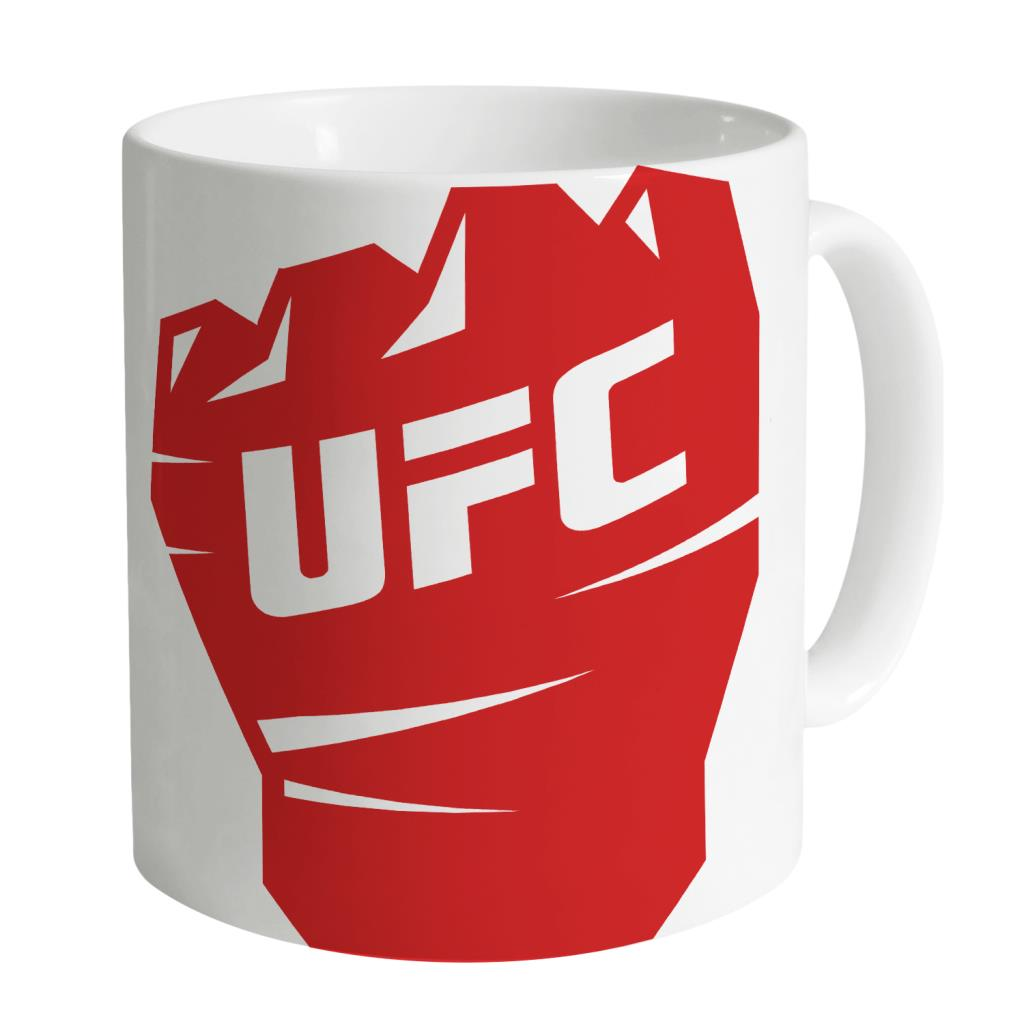 UFC Red Glove White Mug