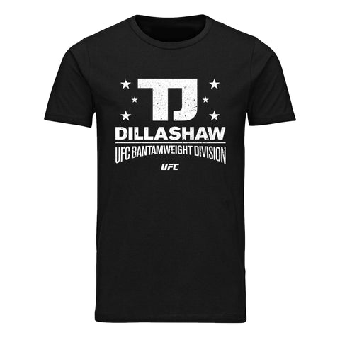 UFC TJ Dillashaw Angels Camp CA Est 86 State T-Shirt- Black