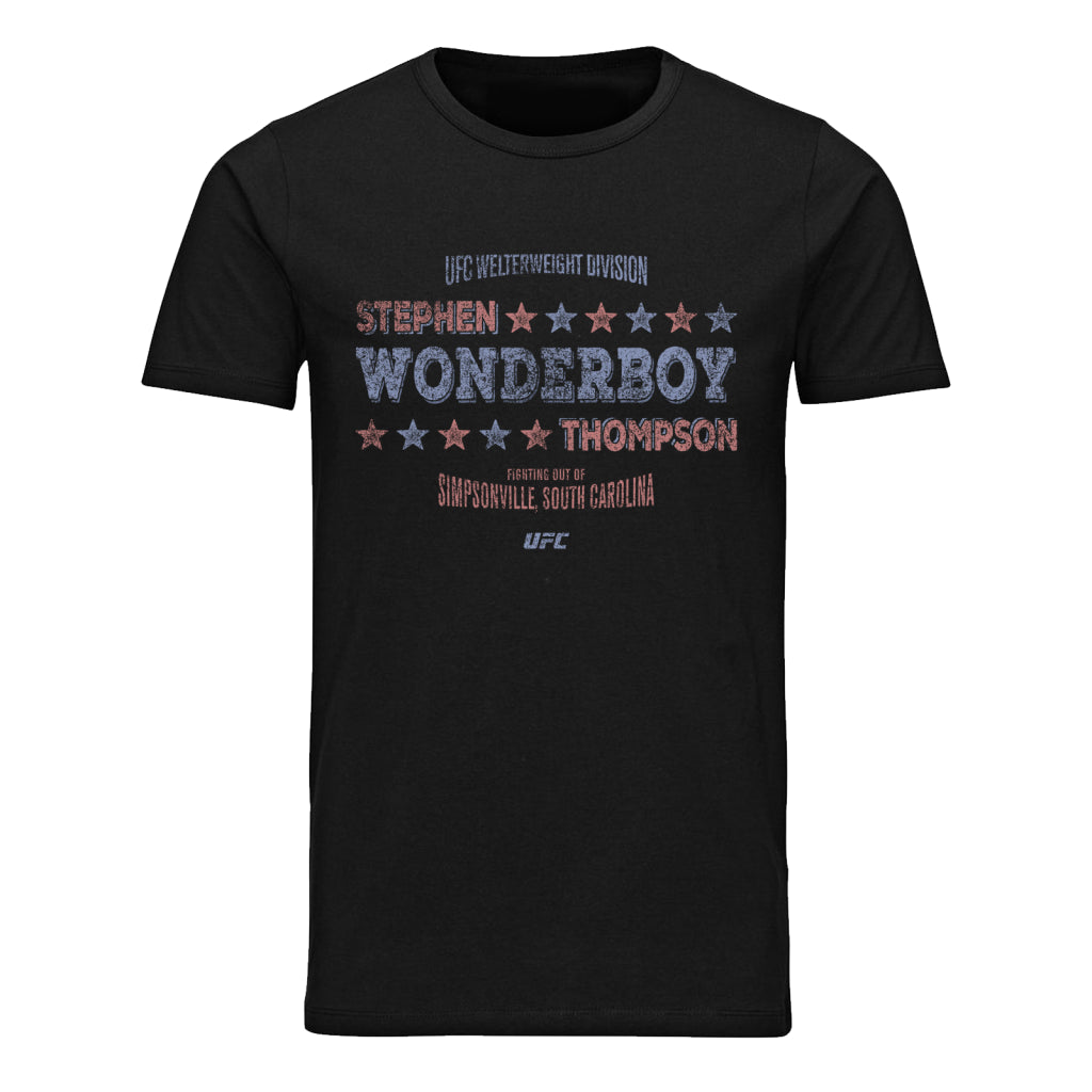 "UFC Stephen ""Wonderboy"" Thompson Stars T-Shirt - Black"