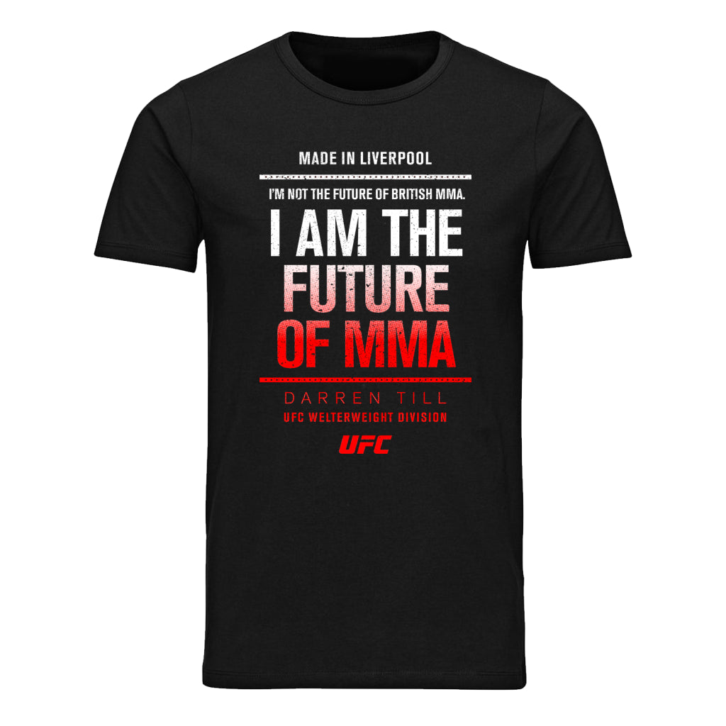 UFC Darren Till Future of MMA T-Shirt -Black
