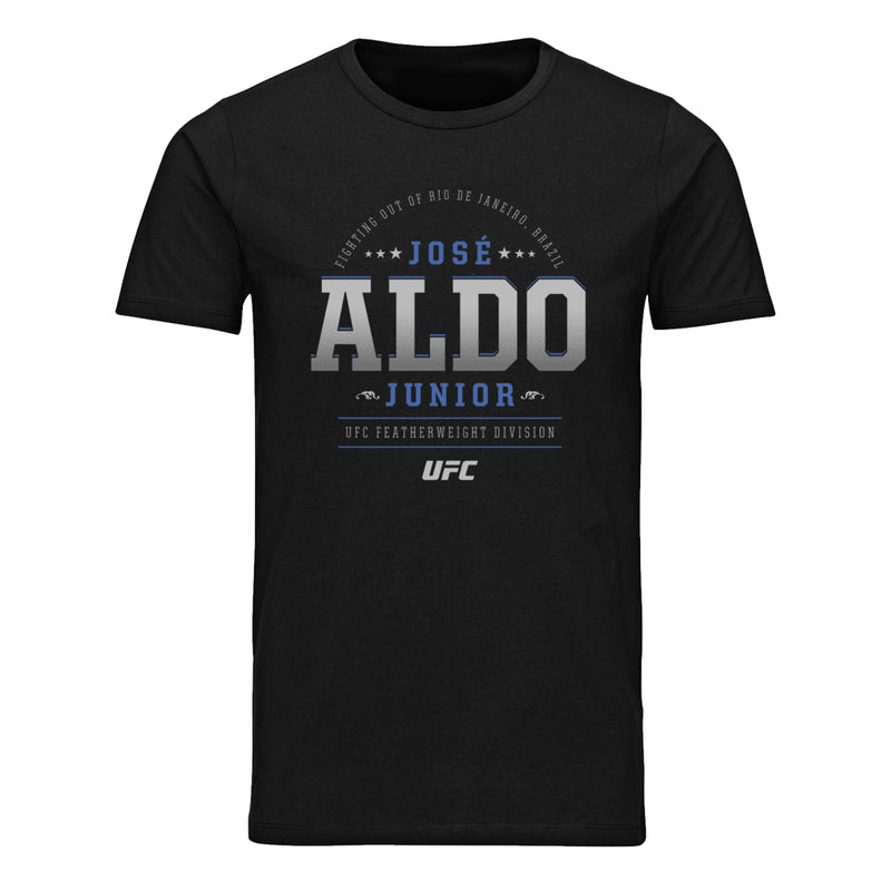 UFC José Aldo Fighting Out Of Graphic T-Shirt-Black