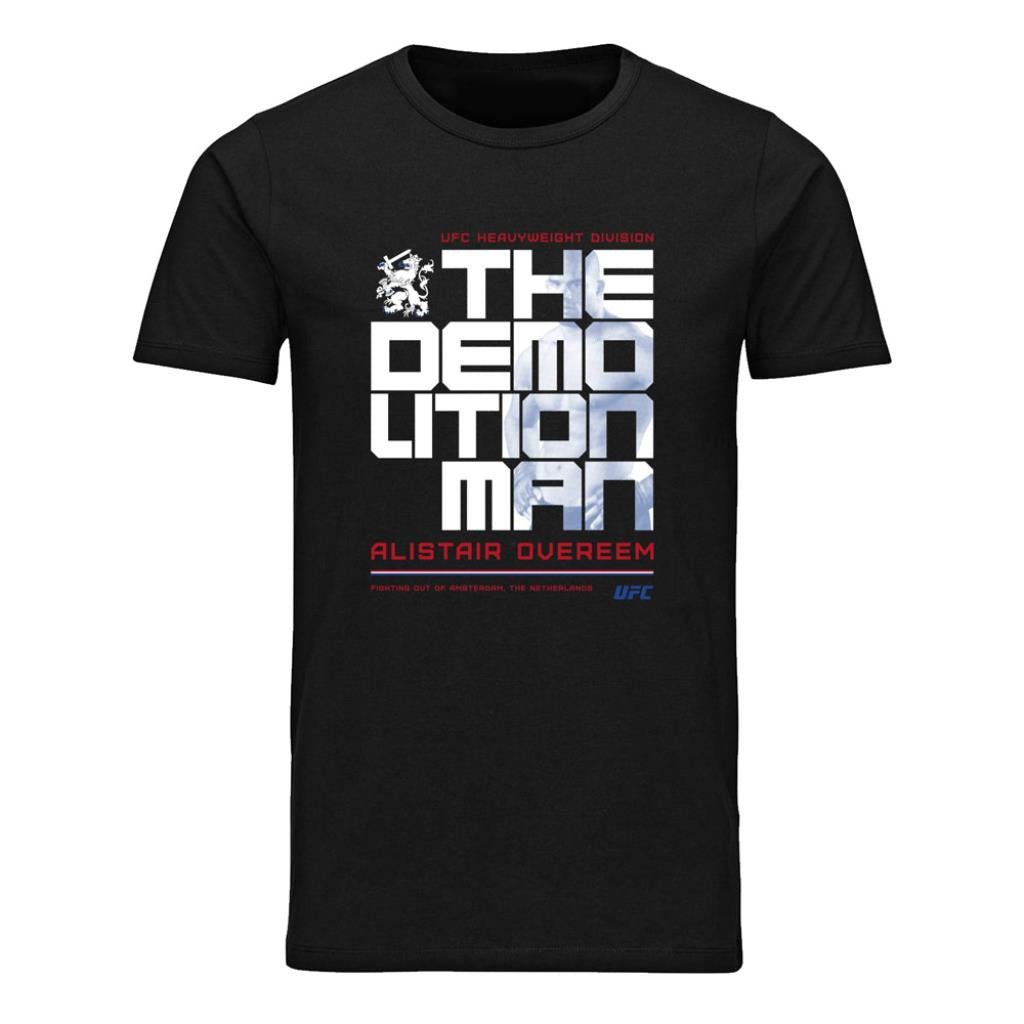 "UFC Alistair ""The Reem"" Overeem Icon T-Shirt- Black"