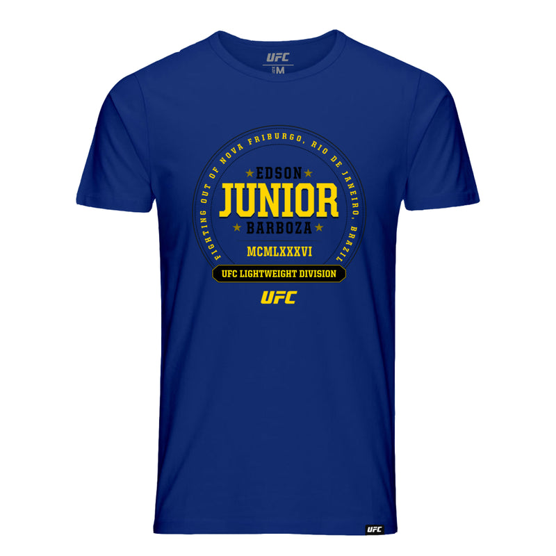"UFC Edson ""Junior"" Barboza Established Graphic Tee-Metro Blue"
