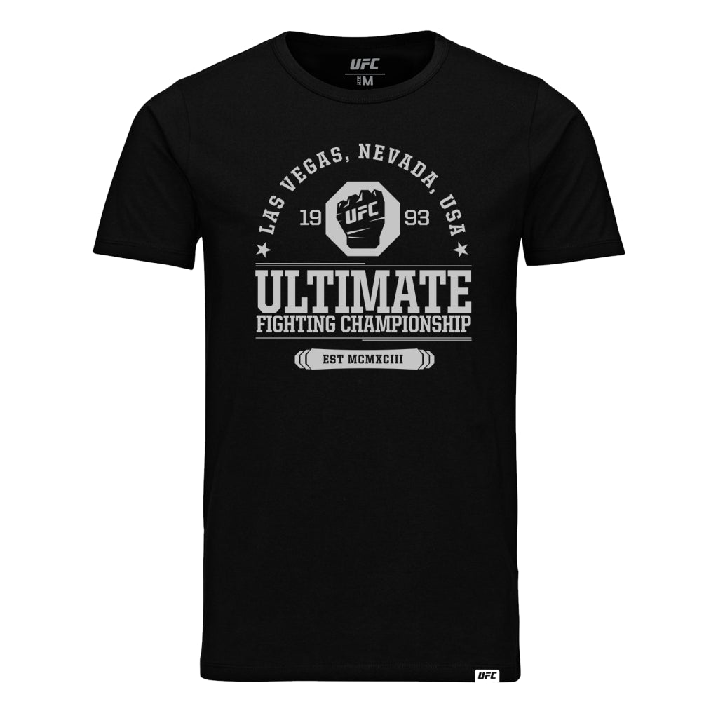 Ultimate Fighting Championship EST MCMXCIII T-Shirt-Black