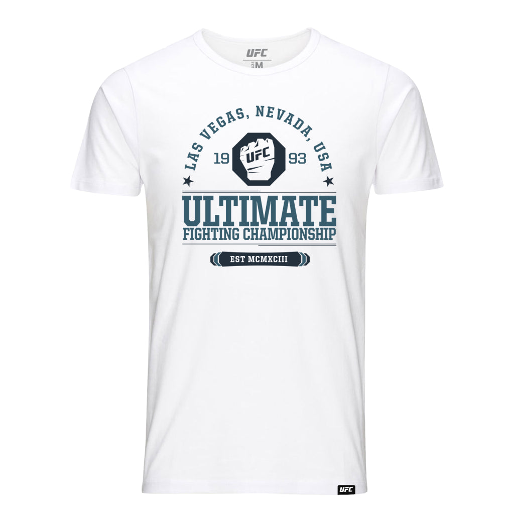 Ultimate Fighting Championship EST MCMXCIII T-Shirt-White