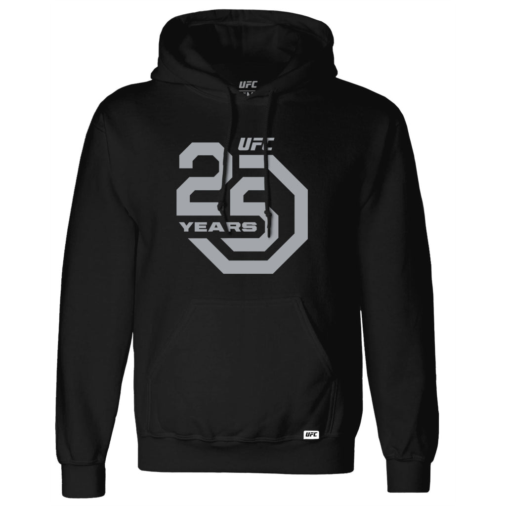 UFC 25th Anniversary Commemorative Octagon Hoodie-Black