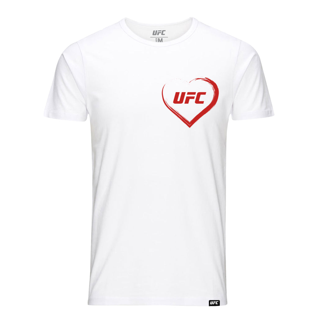 I love UFC Custom T-Shirt -White