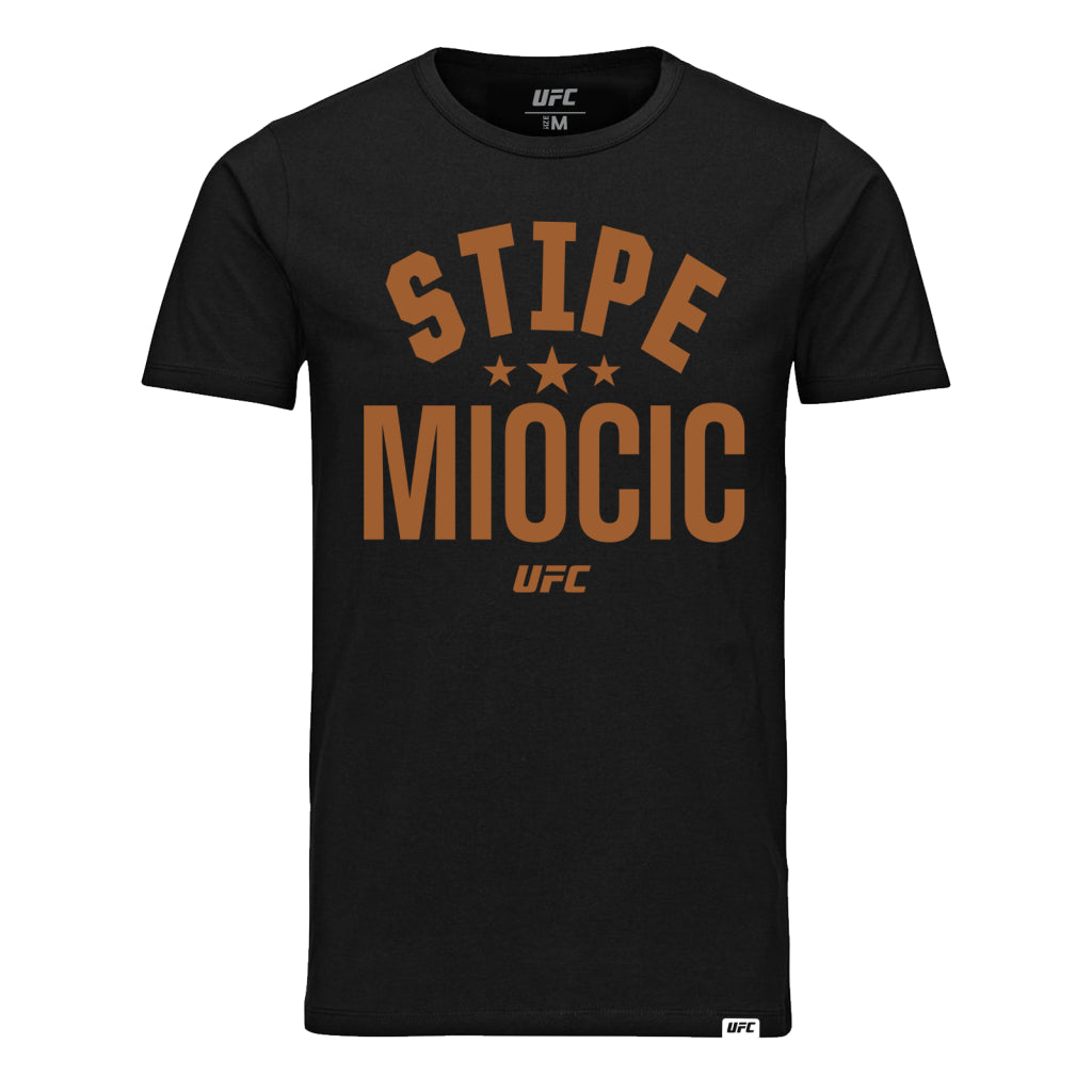 UFC Stipe Miocic Old School Tee-Black