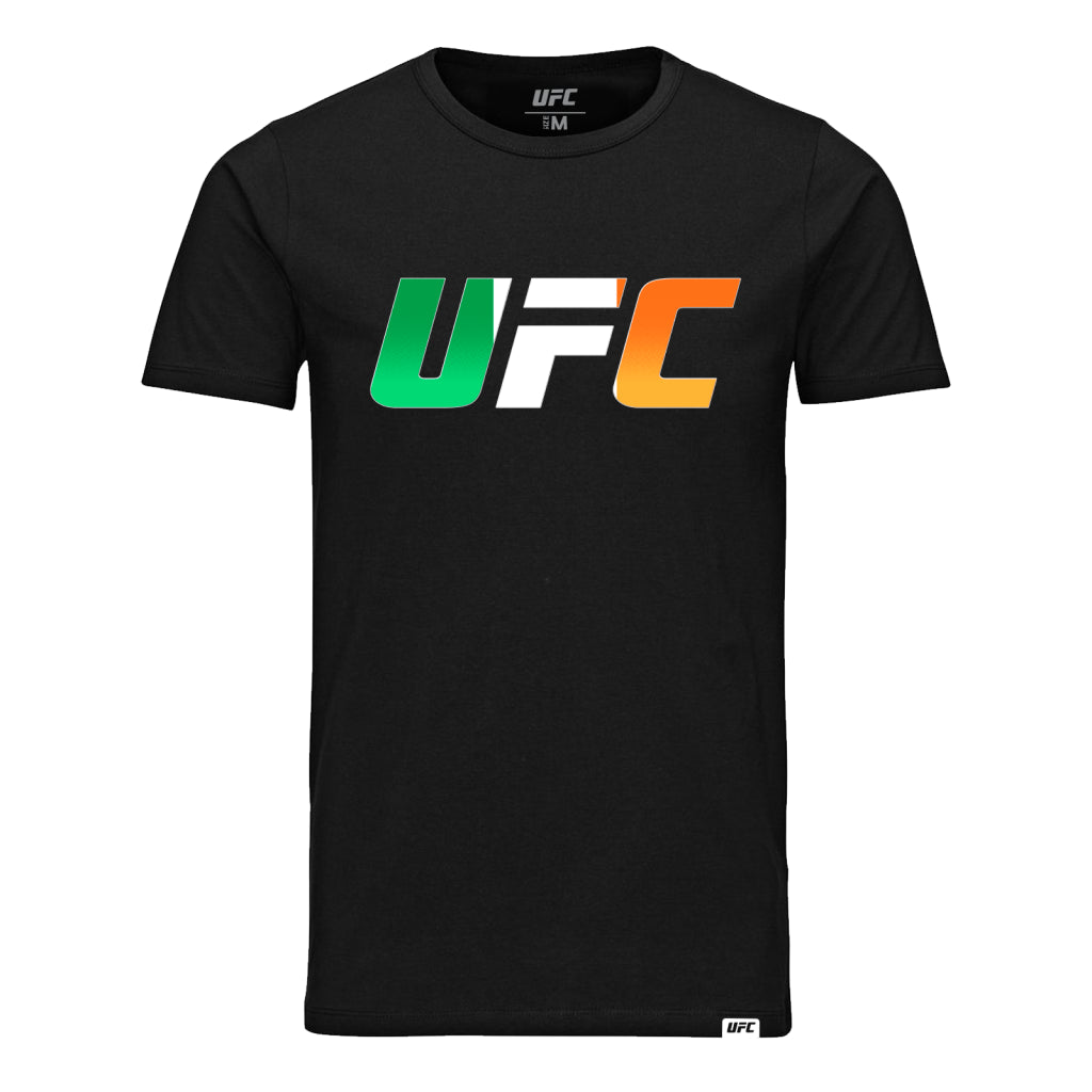 UFC Country Logo Ireland T-Shirt -Black