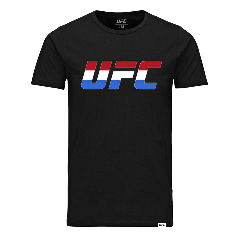 UFC Country Logo Netherlands T-Shirt -Black