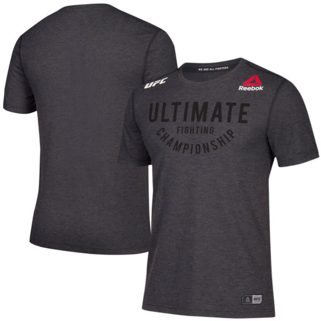 Men's Reebok Black Authentic UFC Fight Night Walkout Jersey