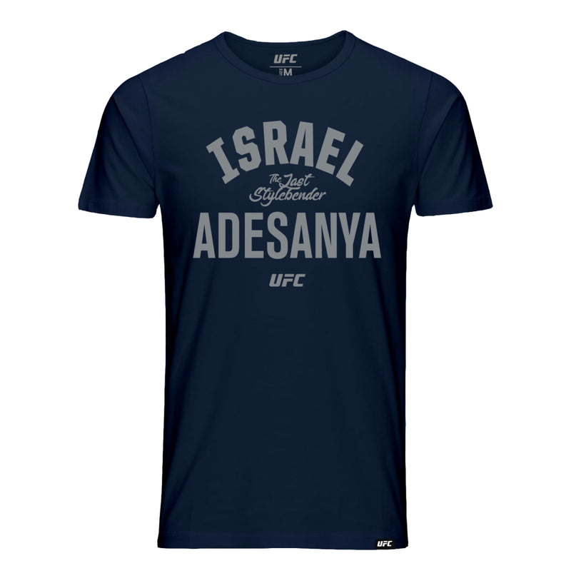 "UFC Israel ""The Last Stylebender"" Adesanya Old School Tee-Navy"