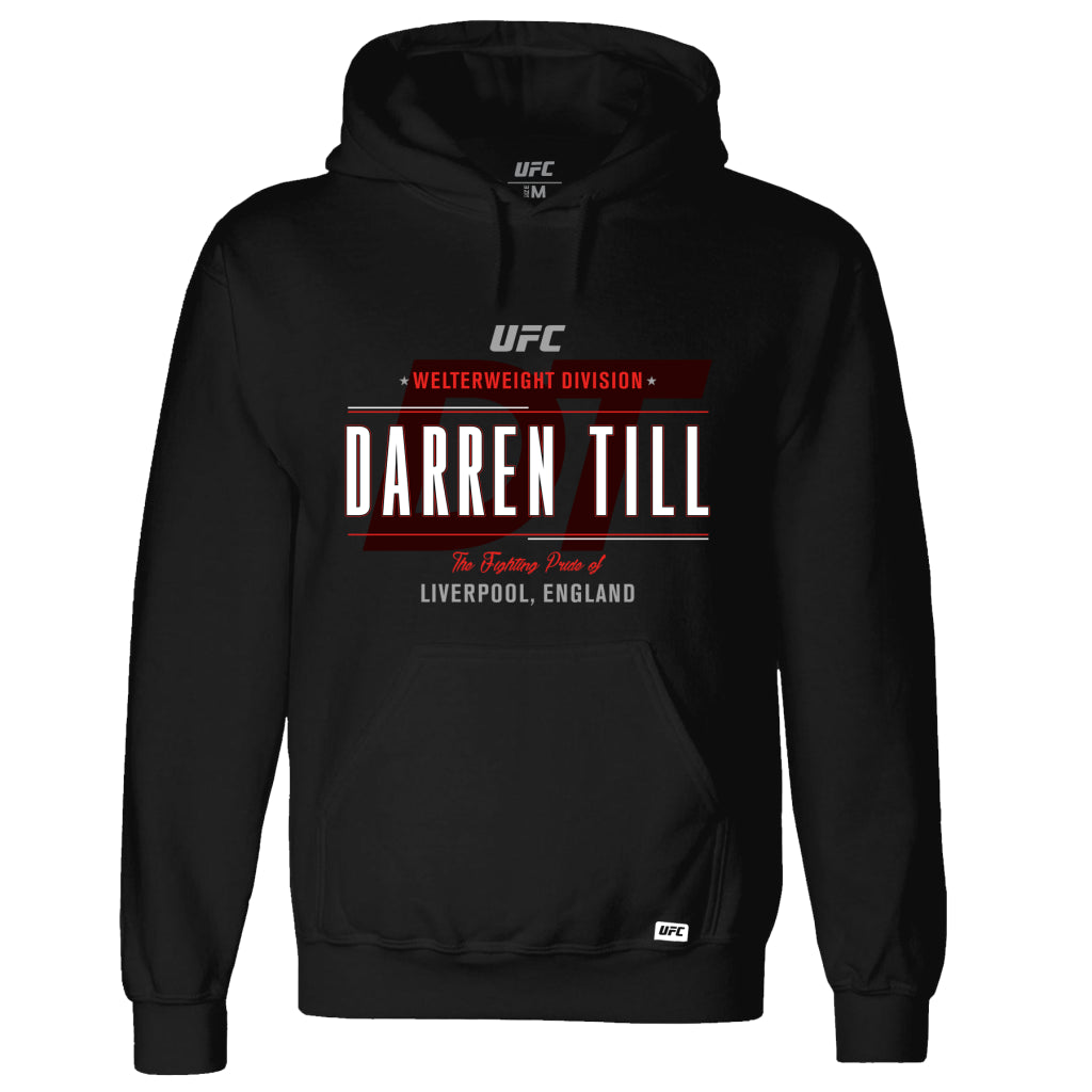 UFC Darren Till Fighting Pride of Liverpool Hoodie - Black