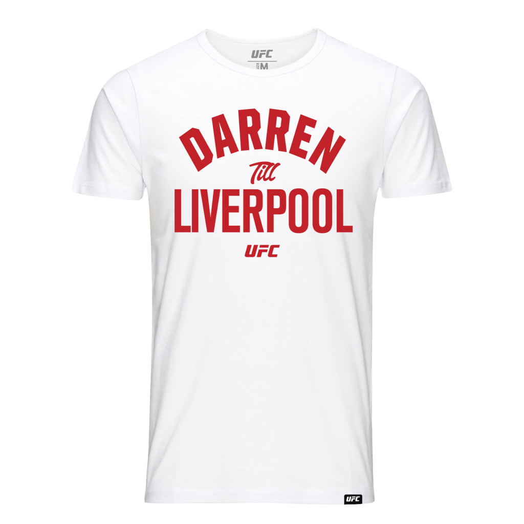 UFC Darren Till Old School  Kid's T-Shirt - White