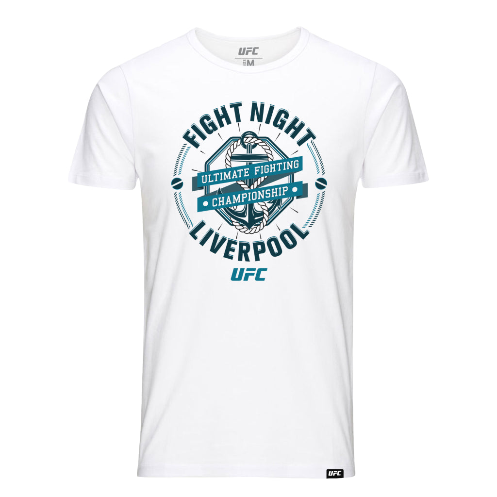UFC Fight Night Liverpool Graphic Tee-White
