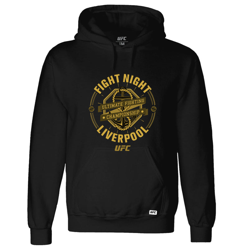 UFC Fight Night Liverpool Graphic Hoodie-Black