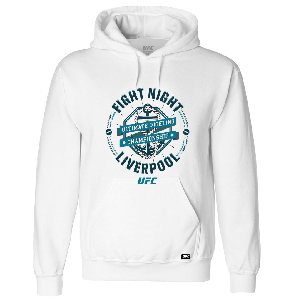 UFC Fight Night Liverpool Graphic Hoodie-White