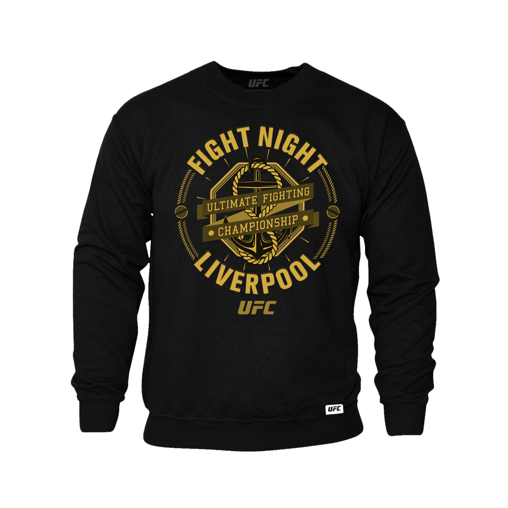 UFC Fight Night Liverpool Graphic Sweatshirt -Black
