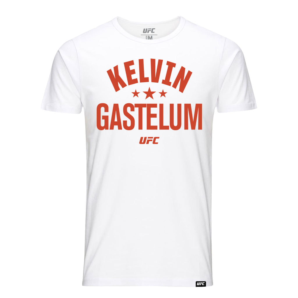 UFC Kelvin Gastelum Old School T-Shirt - White