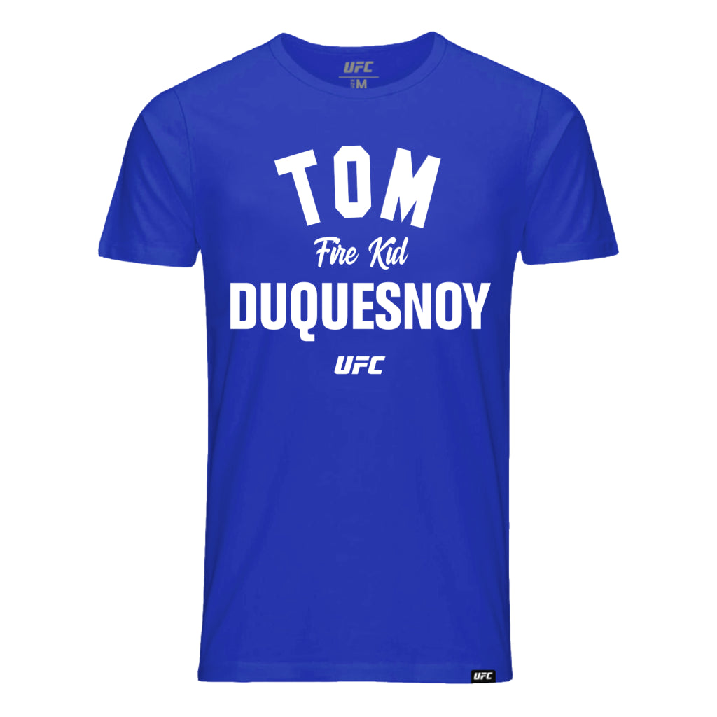 "UFC Tom ""Fire Kid"" Duquesnoy Old School T-Shirt - Royal Blue"