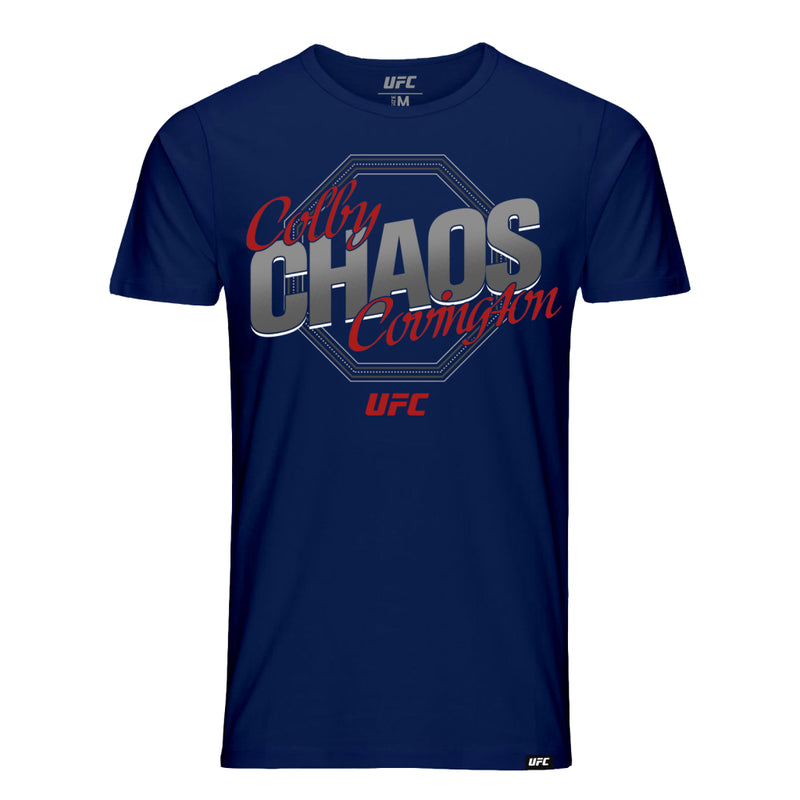 "Colby ""Chaos"" Covington Octagon T-Shirt- Navy"