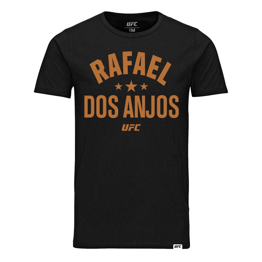 Rafael Dos Anjos Old School T-Shirt-Black