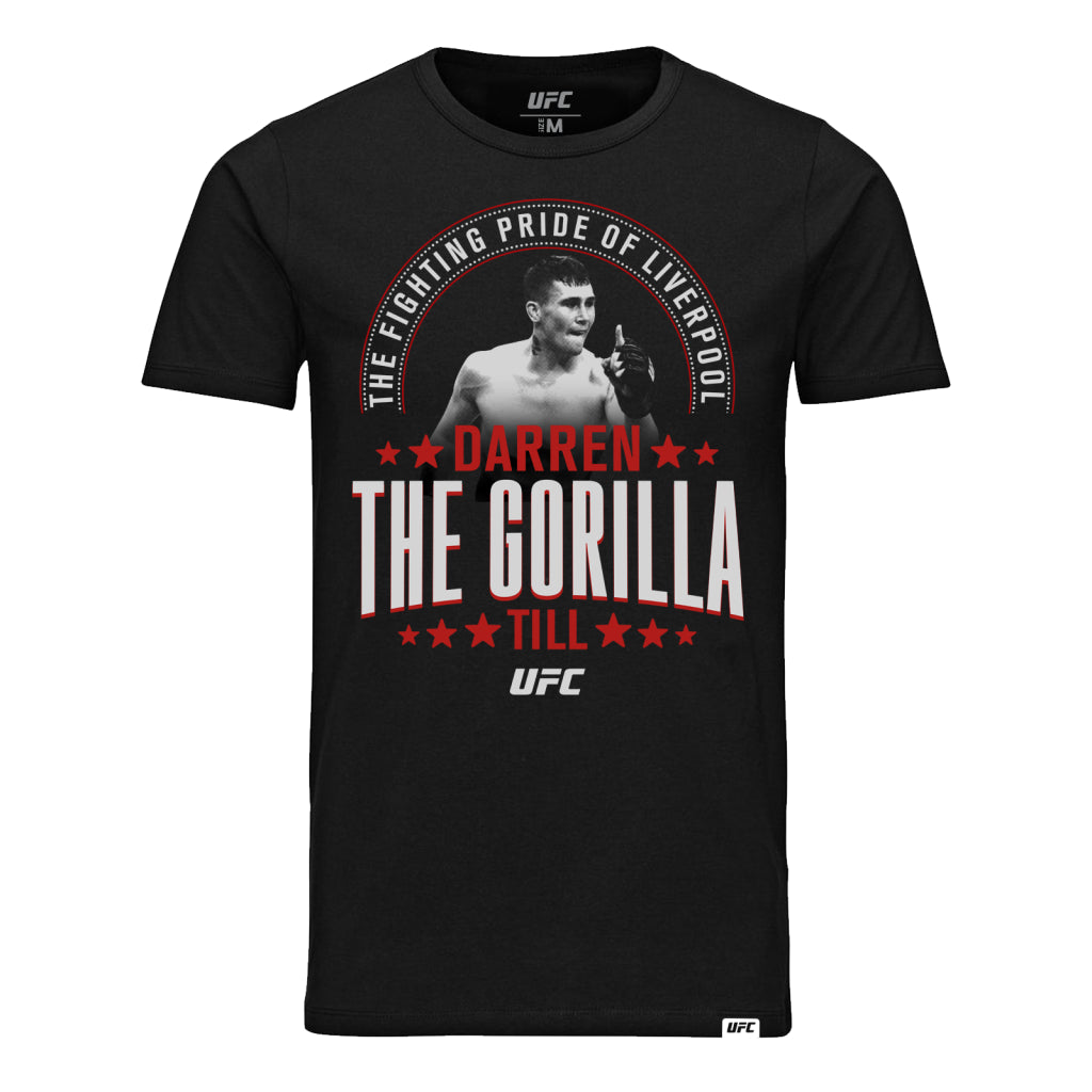 "UFC Darren ""The Gorilla"" Till Fighting Pride T-Shirt - Black"