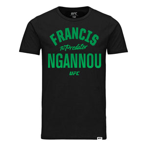 "Francis ""The Predator"" Ngannou Old School T-Shirt -Black"
