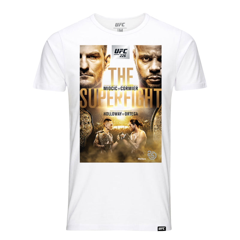 UFC 226 Miocic vs. Cormier Event T-Shirt - White