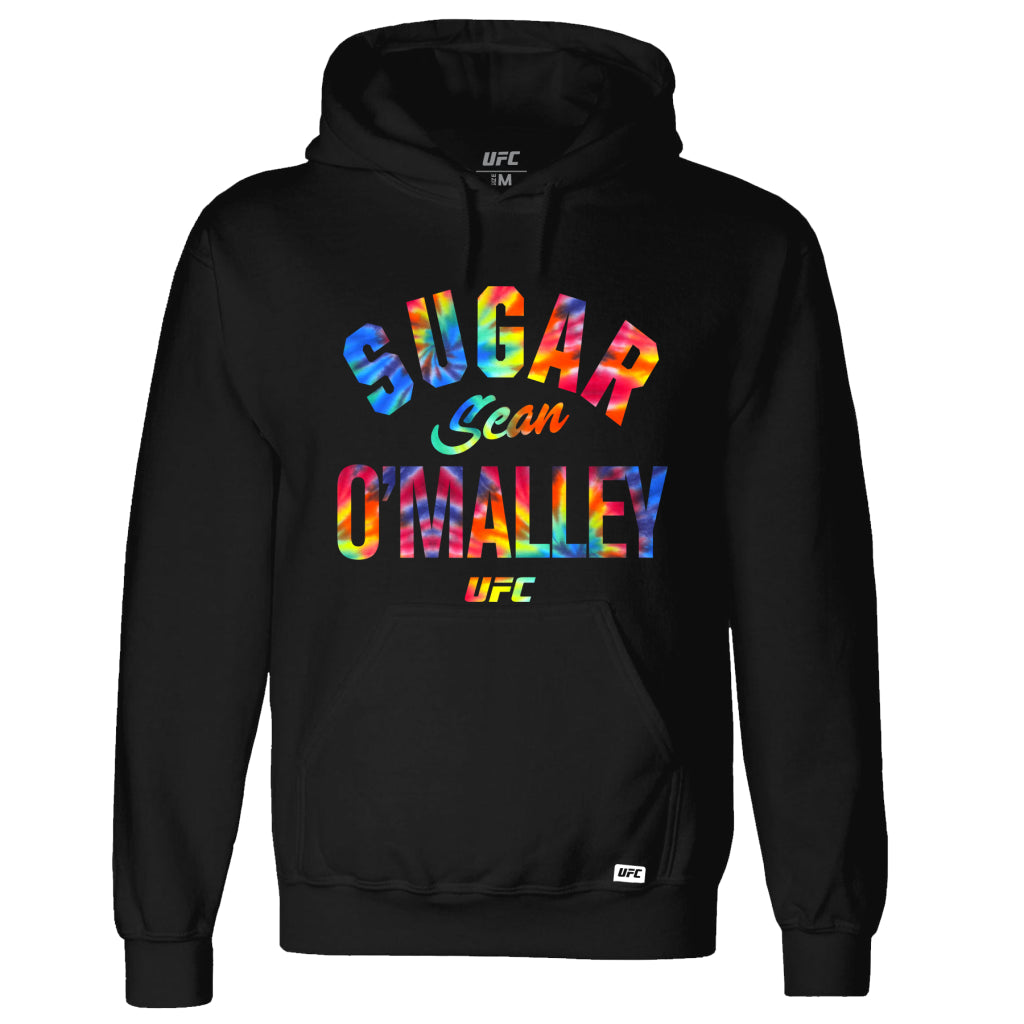 UFC Sugar Sean O'Malley Multi Graphic Hoodie - Black