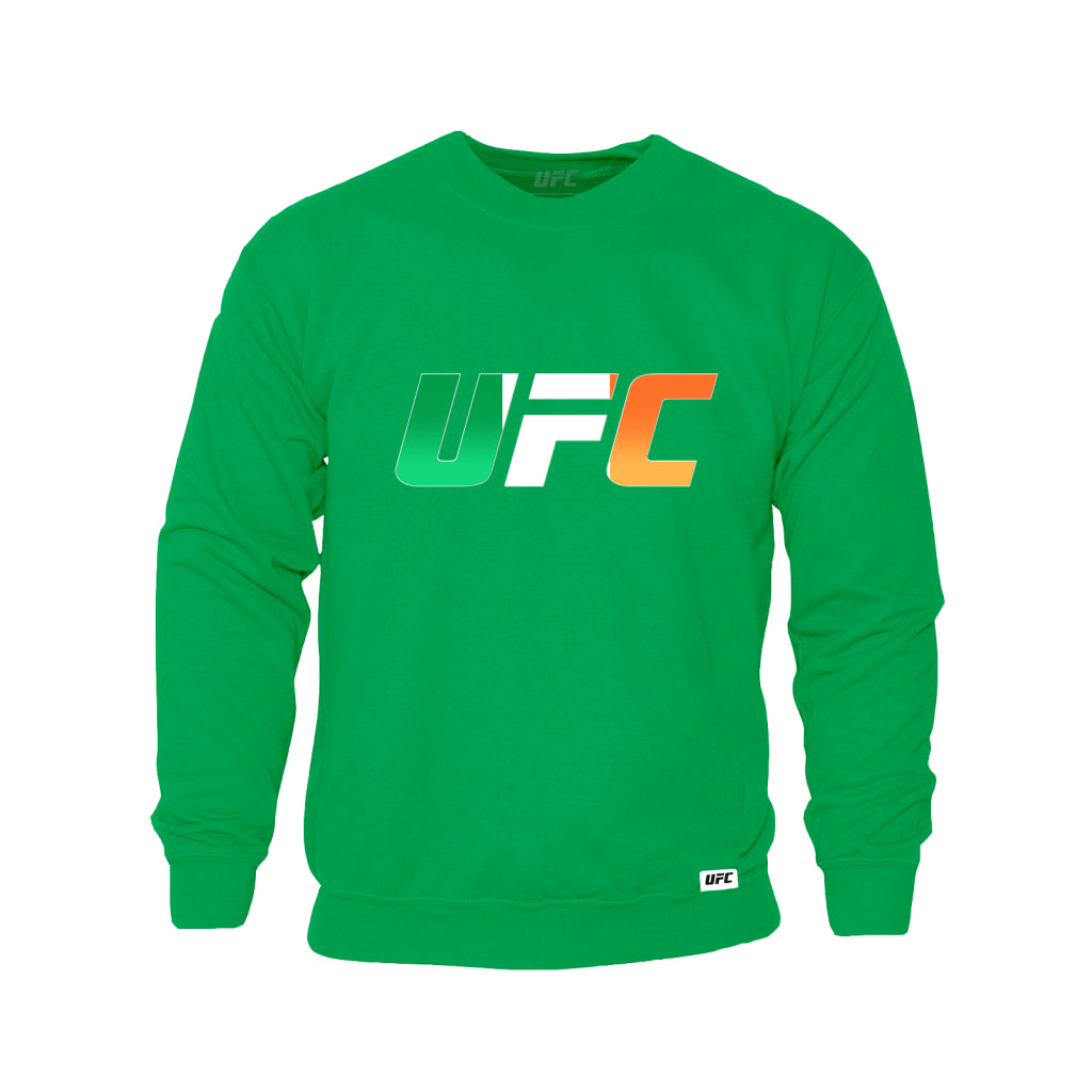 UFC Ireland Country Logo Sweatshirt -Green