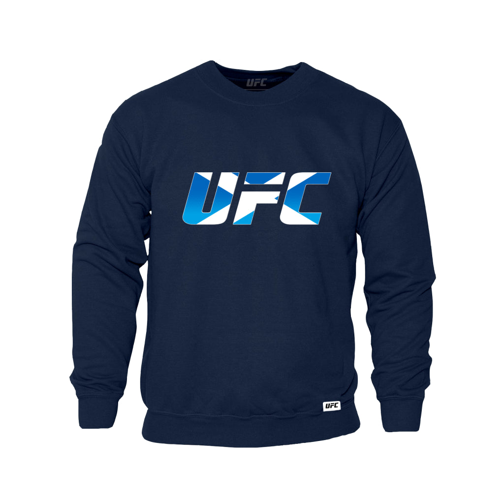 UFC Scotland Country Logo Sweatshirt -Navy