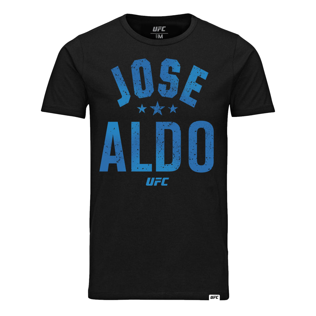 UFC José Aldo Old School T-Shirt-Black