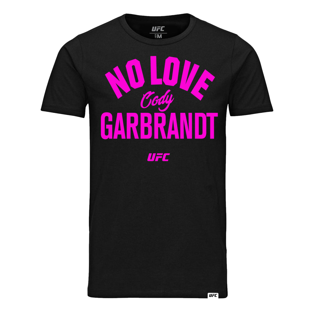 "UFC Cody ""No Love"" Garbrandt Old School T-Shirt- White"