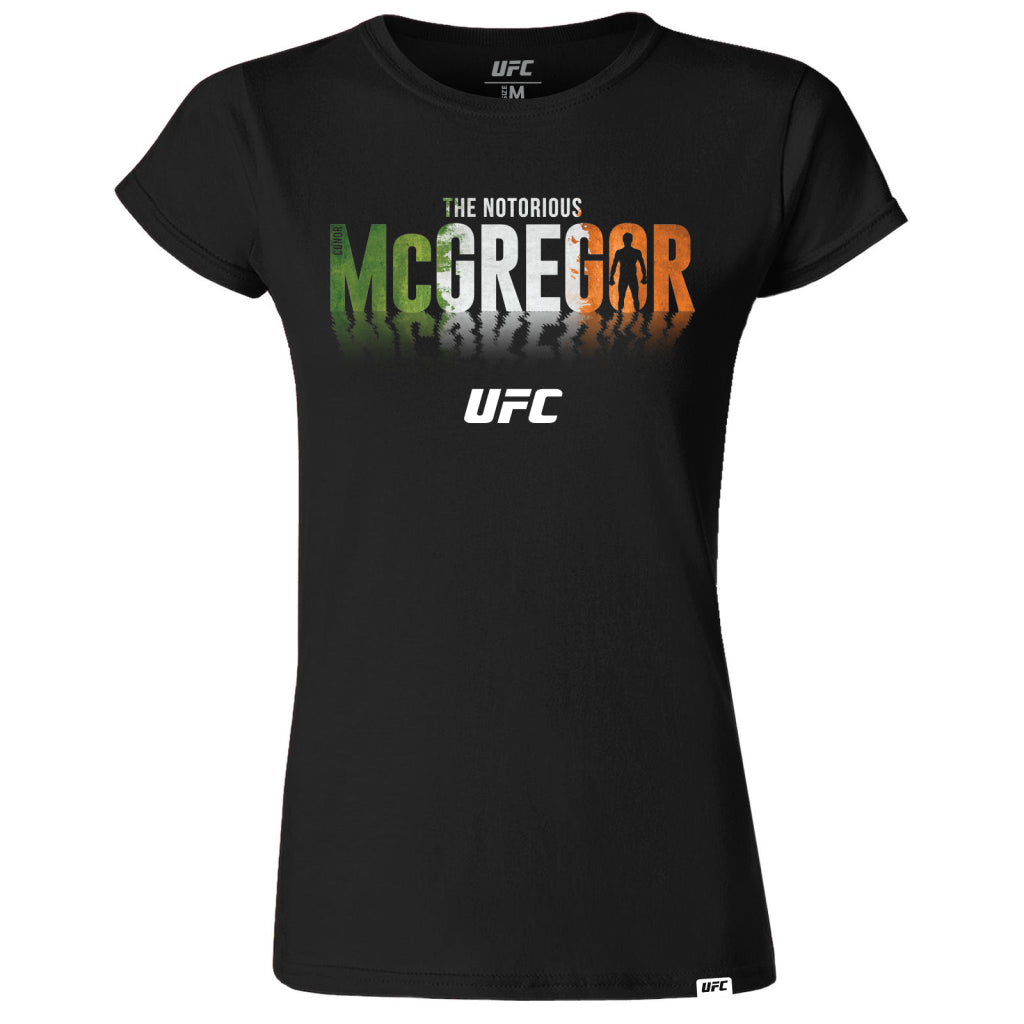 "Conor ""The Notorious"" McGregor Champion Shadow Womens T-Shirt Black"