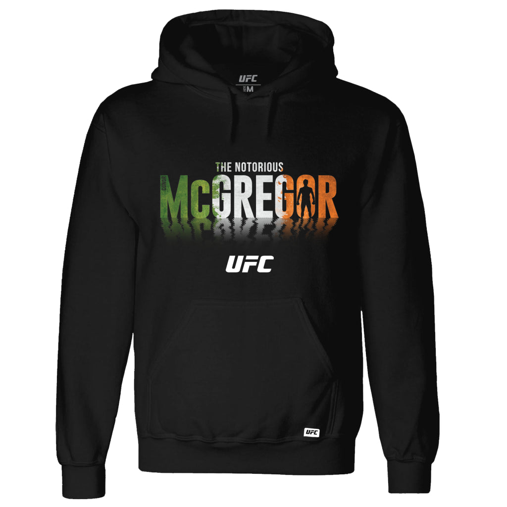 "Men's UFC Conor ""The Notorious"" McGregor  Shadow Hoodie Black"