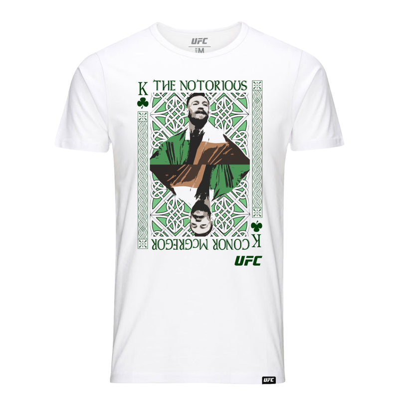 "UFC Conor ""The Notorious"" McGregor King of MMA Kid's T-Shirt-White"