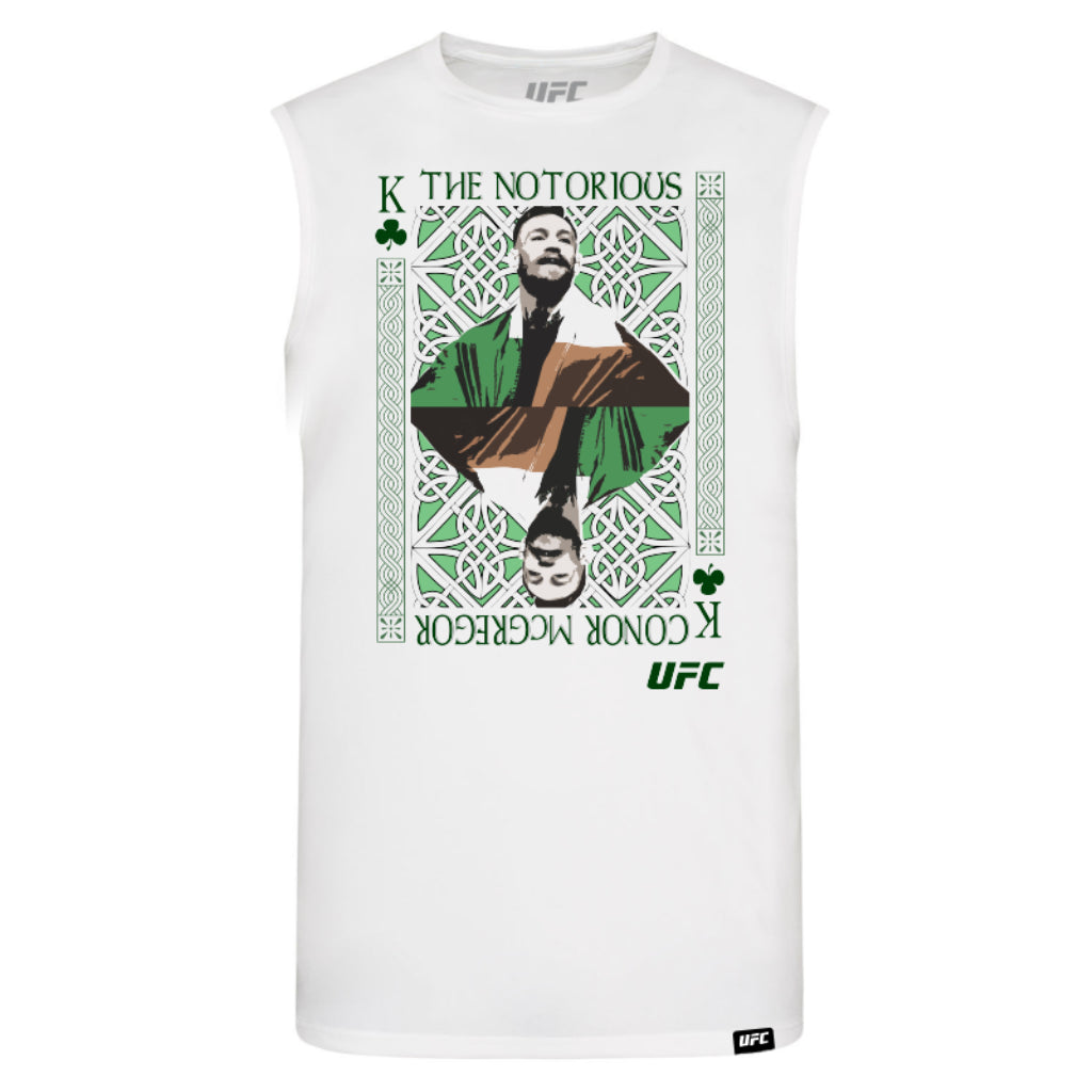 "UFC Conor ""The Notorious"" McGregor King of MMA Vest-White"