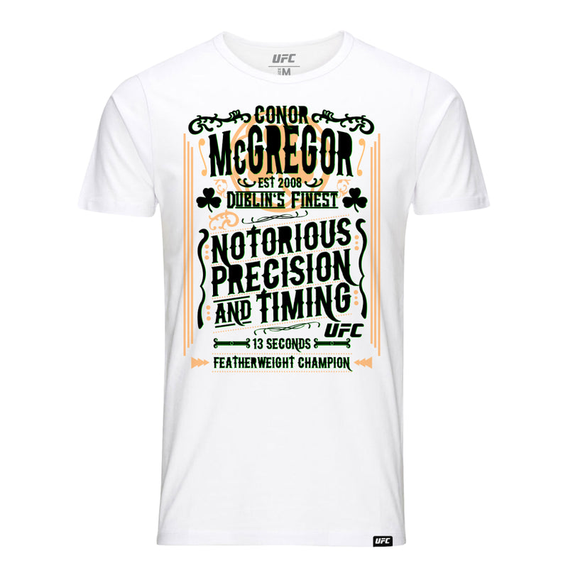 Conor McGregor Precision & Timing T-Shirt Kids -White